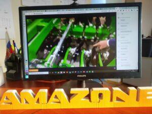 """Торговый отдел ТД """"ГАЛАКТИКА"""" проходят онлайн обучение  по технике AMAZONE."""